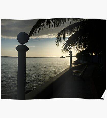Jamaican Ocean Sunrise Poster