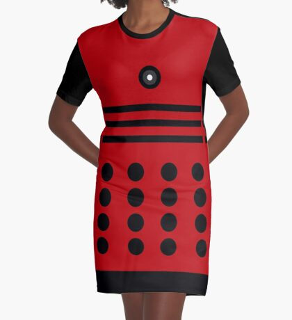 EXTERMINATE! Graphic T-Shirt Dress