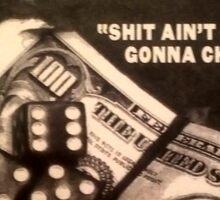 kool g rap sticker Sticker