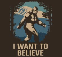 Believe In Bigfoot by Baznet