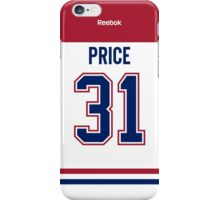 Montreal Canadiens Carey Price Away Jersey Back Phone Case iPhone Case/Skin