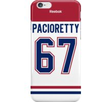 Montreal Canadiens Max Pacioretty Away Jersey Back Phone Case iPhone Case/Skin