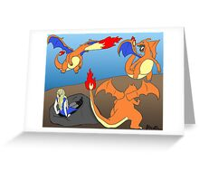 Mother of Charizards Greeting Card