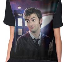 I'm The Doctor! Chiffon Top