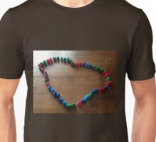 counting bears heart Unisex T-Shirt