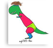 80s Rex - Let's Get Physical Canvas Print