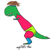 80s Rex - Let's Get Physical Photographic Print