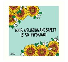 Your Wellbeing Art Print