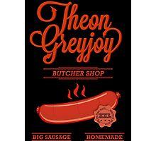 Theon GreyJoy Butcher Shop Photographic Print