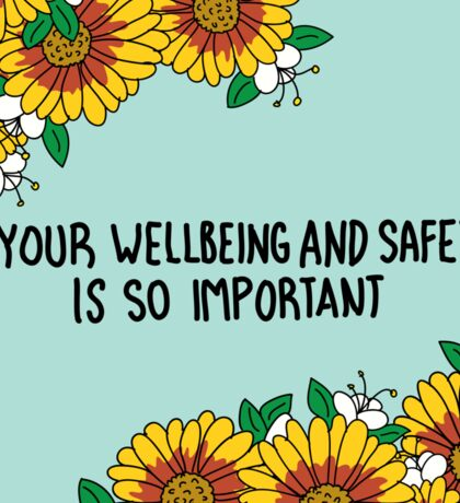 Your Wellbeing Sticker
