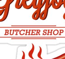 Theon GreyJoy Butcher Shop Sticker