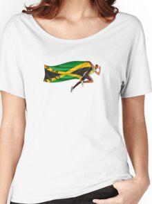 Usain Bolt World Record Women's Relaxed Fit T-Shirt