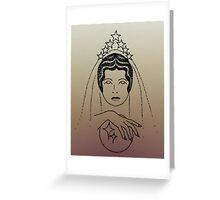 Star Lady - Dusk Greeting Card