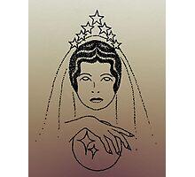 Star Lady - Dusk Photographic Print