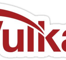 Vulkan Sticker