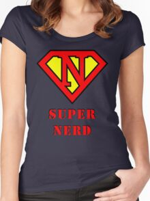 Super Nerd Women's Fitted Scoop T-Shirt