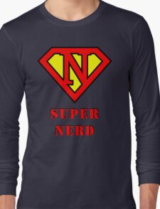 Super Nerd Long Sleeve T-Shirt