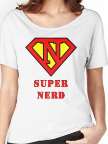 Super Nerd Women's Relaxed Fit T-Shirt