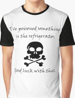 Poisoned Refrigerator Skull Graphic T-Shirt