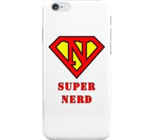 Super Nerd iPhone Case/Skin