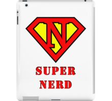Super Nerd iPad Case/Skin