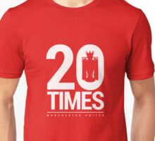 Manchester United - 20 Times Unisex T-Shirt