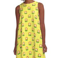 Super Mario Bros. Fire Flower A-Line Dress