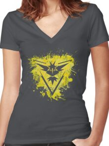 Team Instinct Women's Fitted V-Neck T-Shirt