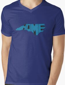 North Carolina Home State Mens V-Neck T-Shirt