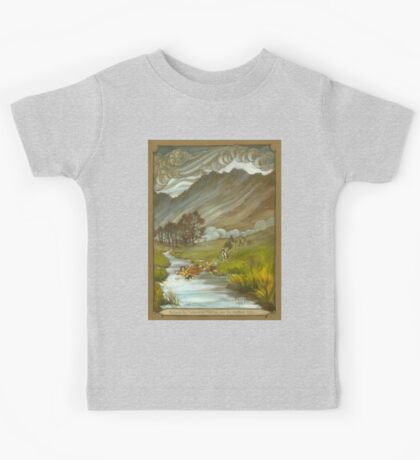 Midgewater Marshes to the Weather Hills Kids Tee