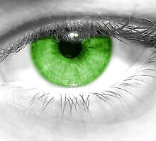 Green Eye by Benedek