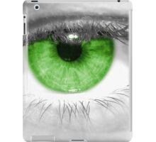 Green Eye iPad Case/Skin