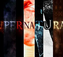 Supernatural 9 in 1 by kurisurini