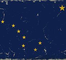 Alaska State Flag VINTAGE by Carolina Swagger