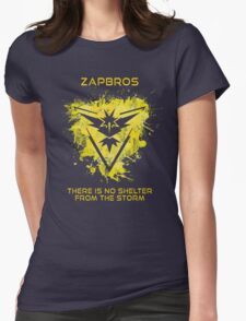Zapbros Womens Fitted T-Shirt