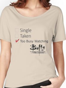 single, taken Women's Relaxed Fit T-Shirt