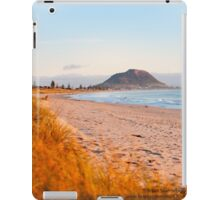 Mount Maunganui beach scene for covers, smartphone cases  iPad Case/Skin