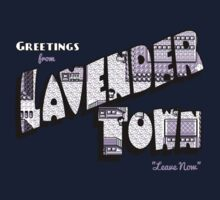 Greetings from Lavender Town Baby Tee