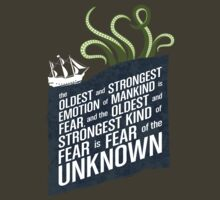 Fear of the Unknown - HP Lovecraft by aClockworkJake
