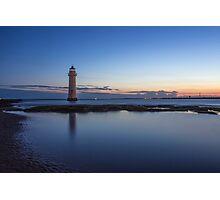Perch Rock Lighthouse Photographic Print