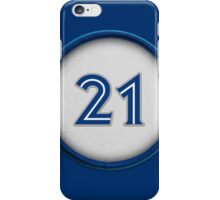 21 - Captain Canada iPhone Case/Skin