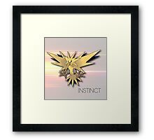Pokemon GO: Team Instinct  Framed Print