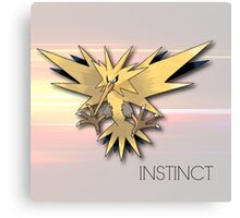 Pokemon GO: Team Instinct  Canvas Print