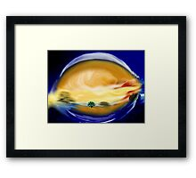 At First Brush Framed Print