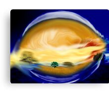 At First Brush Canvas Print
