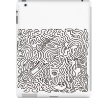 Covered. Through the chaos comes a touch of calm iPad Case/Skin