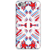 Red, White, and Blue iPhone Case/Skin