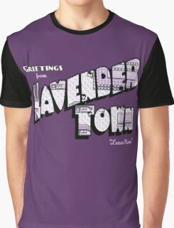 Greetings from Lavender Town Graphic T-Shirt
