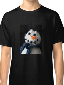 Knitted snowman Classic T-Shirt