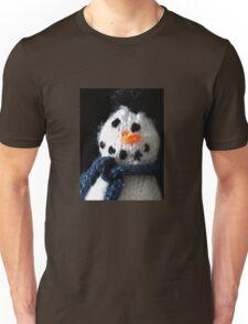 Knitted snowman Unisex T-Shirt